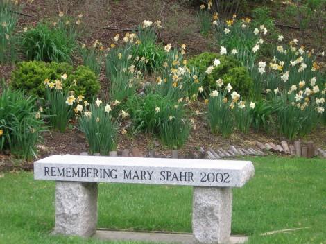 mary spahr bench